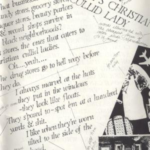 "June 1982's<em>Heresies</em>, ""Coming Soon, Daisy's Christian Cullid Lady"""