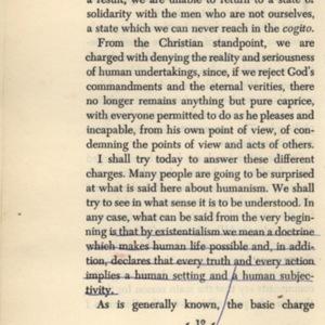 Robert Sward - First note, 1953