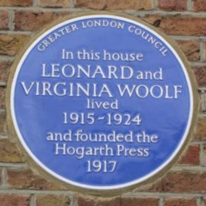 Hogarth Press Plaque.jpg
