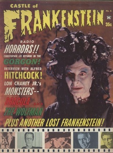 Castle of Frankenstein, Vol.2 No.2, Cover