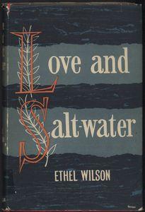 <em>Love and Salt Water</em> First Edition Cover