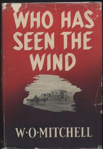 <em>Who Has Seen the Wind</em> First Edition Cover