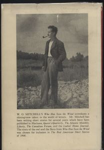 Back Cover of First Edition <em>Who Has Seen the Wind</em>