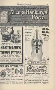 <em>The Strand Magazine</em>,issue 87, advertisements page xxi