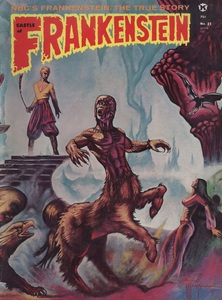 Castle of Frankenstein, Vol.6 No.1, Cover