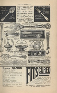 <em>The Strand Magazine</em>,issue 87, advertisements page iii