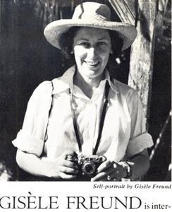 Gisèle Freund, Self-Portrait