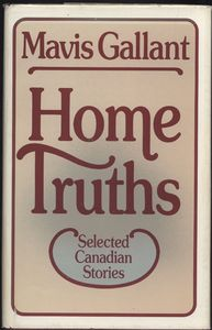 <em>Home Truths: Selected Canadian Stories</em> First Edition Cover