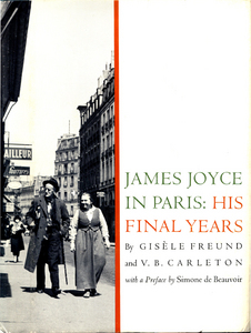 Cover of James Joyce in Paris: His Final Years