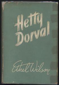 <em>Hetty Dorval</em> First Edition Cover