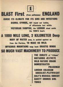 Blast 1 Blast England 1