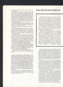 Editorial statements in January 1977's <em>Heresies</em>