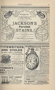 <em>The Strand Magazine</em>,issue 87, advertisements page xv
