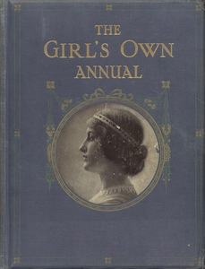 Front Cover of The Girl's Own Annual (1915)