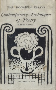 Cover for Contemporary Techniques of Poetry published at the Hogarth Press