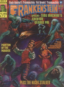 Castle of Frankenstein, Vol.7 No.1, Cover