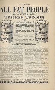 <em>The Strand Magazine</em>,issue 87, advertisements page ix