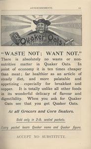 <em>The Strand Magazine</em>,issue 87, advertisements page xiv