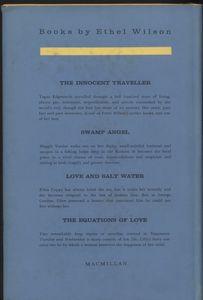 <em>Mrs. Golightly</em> First Edition Back Cover
