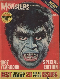 Famous Monsters, 1967 Yearbook, Cover