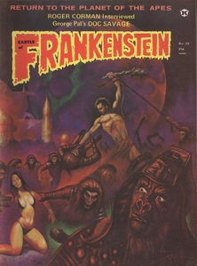 Castle of Frankenstein, Vol.6 No.3, Cover