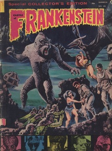 Castle of Frankenstein, Vol.5 No.4, Cover