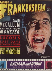 Castle of Frankenstein, Vol.2 No.4, Cover