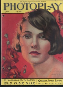 Photoplay. Vol. 6, No. 1. Cover